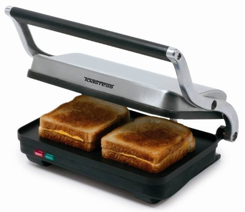 Toastess Sandwich Grill in Stainless Steel