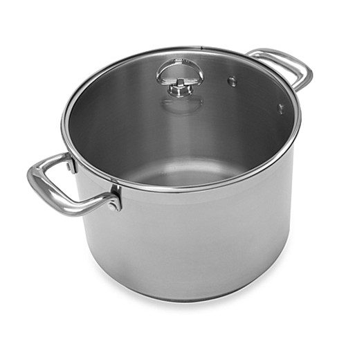 Chantal® Induction 21 Steel™ 8-Quart Covered Stock Pot