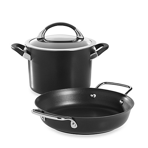Circulon® Symmetry 3-Piece Cookware Set in Black