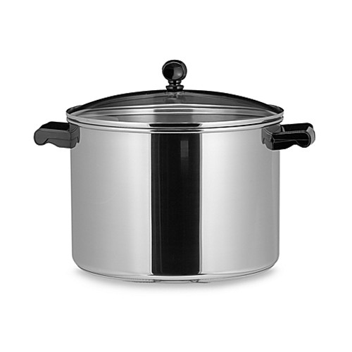 Farberware® Classic Series™ II Stainless Steel 8-Quart Covered Stock Pot