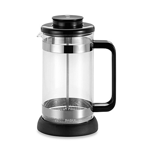 BonJour® Riviera 8-Cup French Press with Coaster and Coffee Scoop