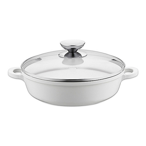 Berndes® Vario Click Pearl 11.5-Inch Ceramic Induction Casserole Dish with Lid