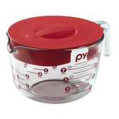 Pyrex® 8 Cup Measuring Cup w/ Red Lid