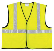 Class II Solid Poly Fuorescent Safety Vest