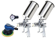 Titan 4 Pc. HVLP Dual Set-Up Spray Gun 19223