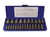Hanson Multi-Spline Screw Extractor Set - 25 Pc. IRW53227