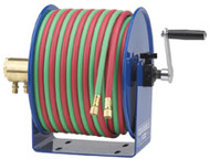 Coxreels 170-112W-1-100 Hand Crank 1-4Inx100Ft Twin-Line-With Hose
