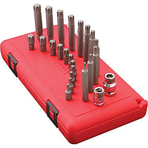 24 Piece Ribe Bit Socket Set  SUN9724