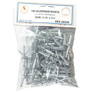 "Aluminum Rivets - 3/16"" x 3/4"" 100 PC 26546"