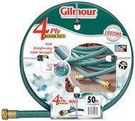 "Gilmour 1/2"" X 50' 4 Ply Medium Duty Garden Hose 15-12050"