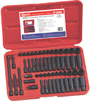 55 Piece 1/4 Inch Drive Impact Socket Set GNSTF255MS