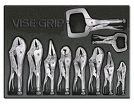 10pc VISE-GRIP Locking Tools in Tray VSG-1078TRAY