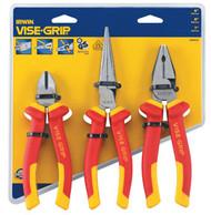 3 Pc. Insulated Plier Set VSG-10505519NA