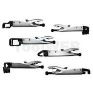 6 Piece Slide Lock Pliers Set with Case VIMSLP