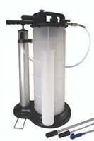 Manual & Pneumatic Fluid Extractor w/ Air Inlet & Auto Shut Off Device AST-