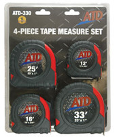 4-Piece Tap Measure Set ATD-330