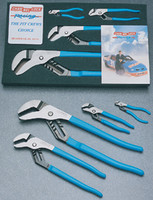"4 pc. ""Pit Crew"" Tongue and Groove Pliers Set CNL-PC1"