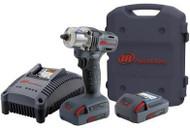 "3/8"" 20v Mid-Torque Impact Tool Kit (Two Batteries)"