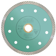 "Pearl 7 x .055 x 7/8 in, DIA, 5/8"" P4 Turbo Mesh Diamond Blade - Granite"