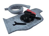 Vacuum Random Orbital Palm Sander Hose, Bag Velcro Pad