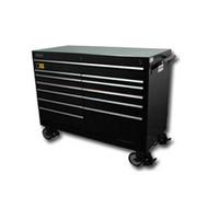 54 in  Wide Super Heavy Duty Cabinet - Black