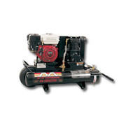 5.5 HP Honda, 8 Gallon, 1-Stage, 9.0 CFM Compressor
