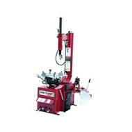 High Volume Electric Rim Clamp Tire Changer with Extended Clamps