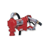 110 Volt Light Duty Fuel Transfer Pump w/ Nozzle