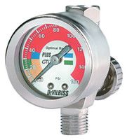 Air Adjusting Valve with Pressure Gauge