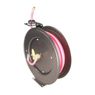 3/8 in  x 50' Hose Reel - Automatic Rewind with Hose