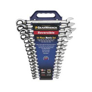 16 Piece Metric Reversible GearWrench Set