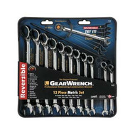 12 pc. Metric Offset Reversible GearWrench Set KDT9620