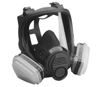 Full-Facepiece Spray Paint Respirator - Organic Vapor 7162