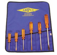 Ampco 6pc Slt/phl Non-spark Screwdriver Set M-39