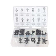 65 Piece Push Type Retainer Kit (All Cars)
