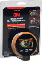 3M Headlight Lens Restoration System 3M39008