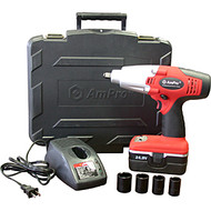 "Cordless 24V 1/2"" Impact Wrench Kit with One Battery"