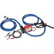 Tuthill Diesel Fuel Transfer Pump with Hoses, 12 Volt, 10 GPM, FR1614