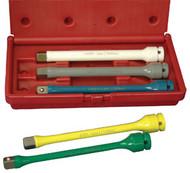 """5 pc. 1/2"""" Dr. Wheel Torque Extension Set ATD-4375"""