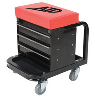 Heavy Duty Toolbox Creeper Seat, 450lb Capacity ATD81047