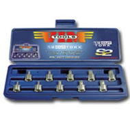 10 Piece Half Cut TORX Driver Set, T10 thru T50