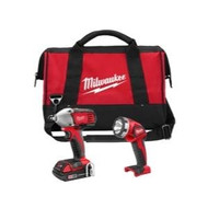 Milwaukee 2693-22 M18 18-Volt 2-Tool Combo Kit