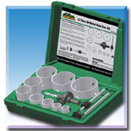 13 Pc. Bi-Metal Hole Saw Kit