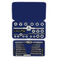 41-pc Machine Screw / Fractional / Metric Tap  and  Hex Die Set