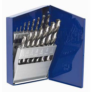 15-piece High Speed Steel Drill Bit Set