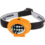 Night Stick Head Lamp -Spot, Flood and Dual Light, 8 LED NSP-2228