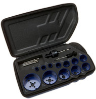 Irwin Industrial Tools 3073004 General Purpose Hole Saw Kit, 17-Piece