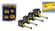 4-pack Tape Measure Assortment