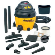 16 Gallon 6.25 HP Ultra Pro Wet/Dry Vacuum