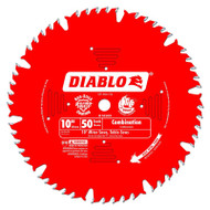 Freud Diablo 10-Inch 50-tooth ATB Combination Saw Blade D1050X